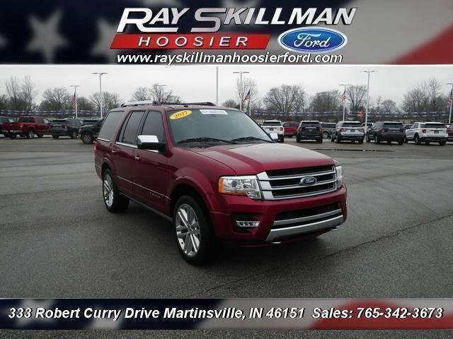 Certified Pre-Owned 2017 Ford Expedition Platinum