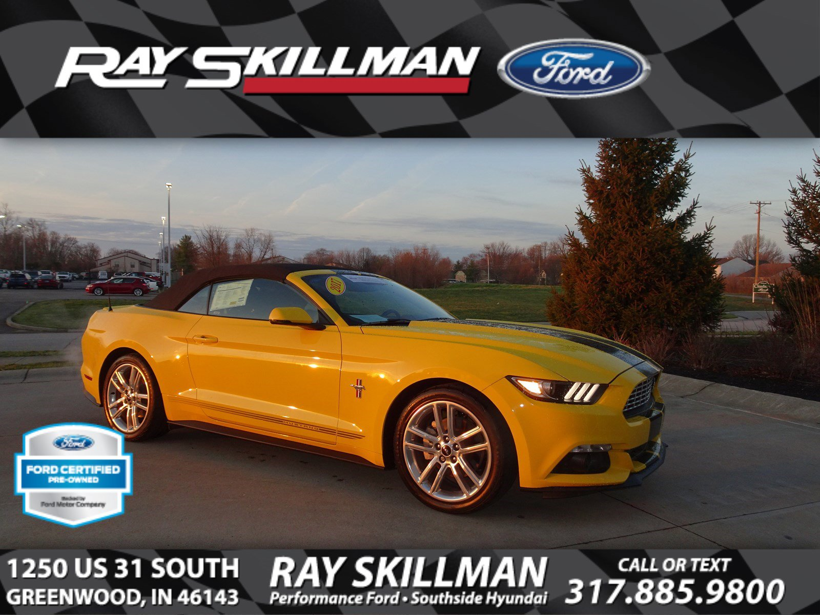 Certified Pre-Owned 2017 Ford Mustang EcoBoost Premium