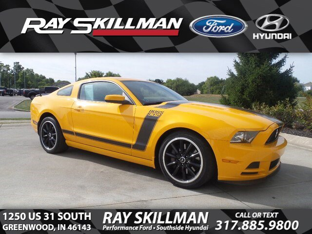 Ford Mustang Boss 302 >> Pre Owned 2013 Ford Mustang Boss 302 Rwd Coupe