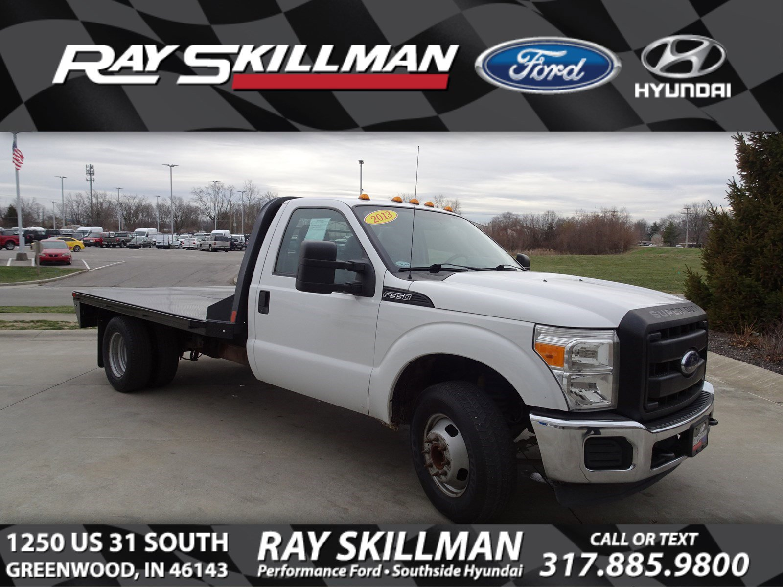 Pre-Owned 2013 Ford F-350 XL