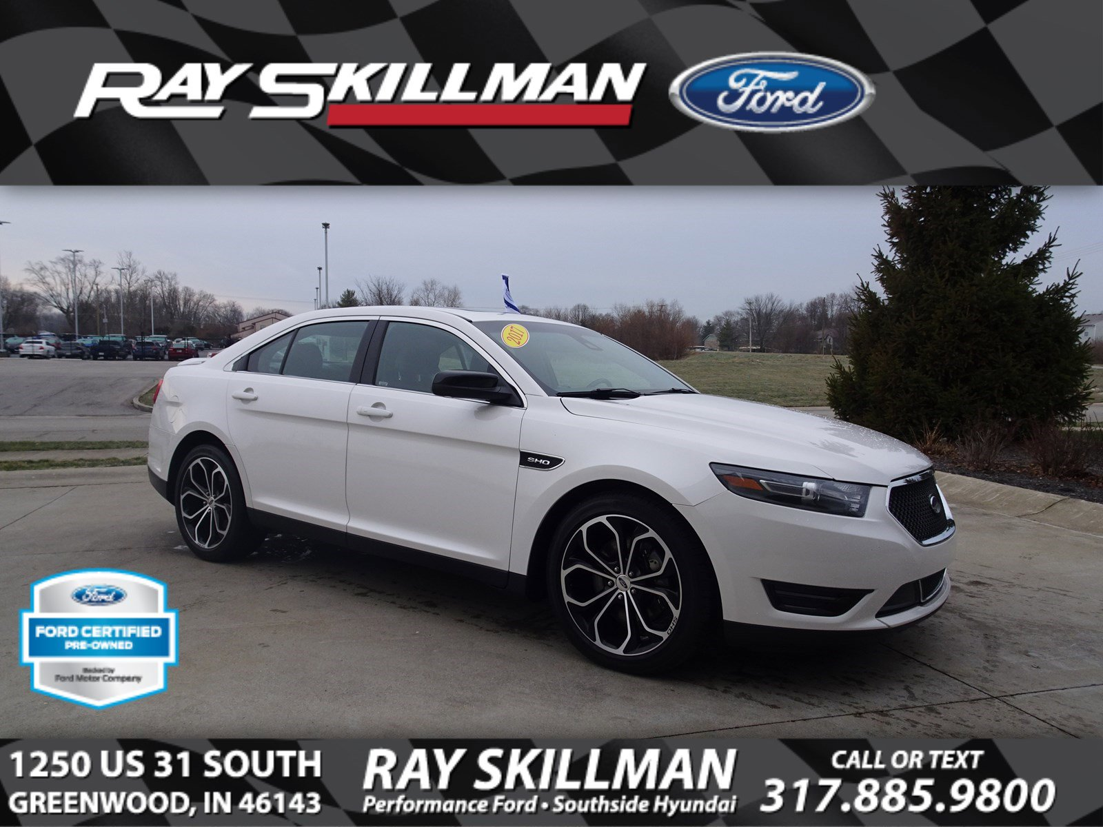 Certified Pre-Owned 2017 Ford Taurus SHO