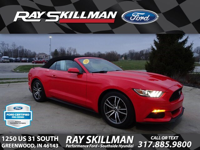 Certified Pre-Owned 2016 Ford Mustang EcoBoost Premium