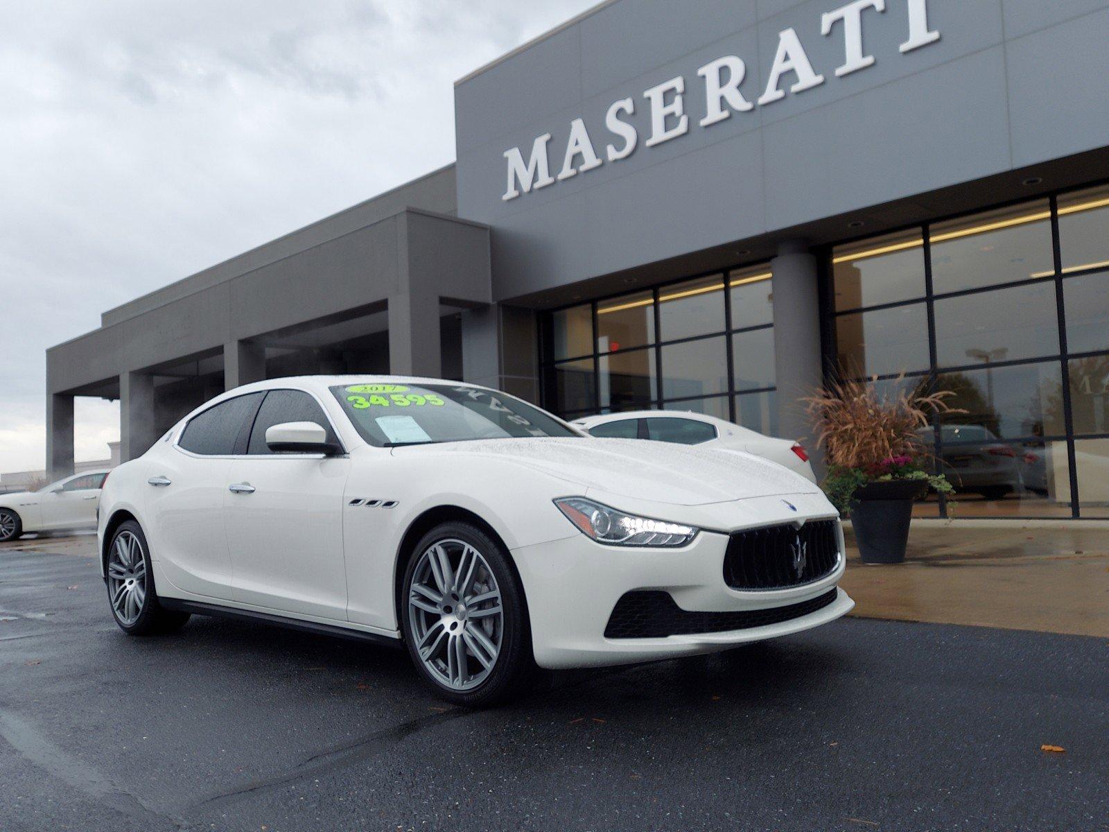Certified Pre-Owned 2017 Maserati Ghibli Base