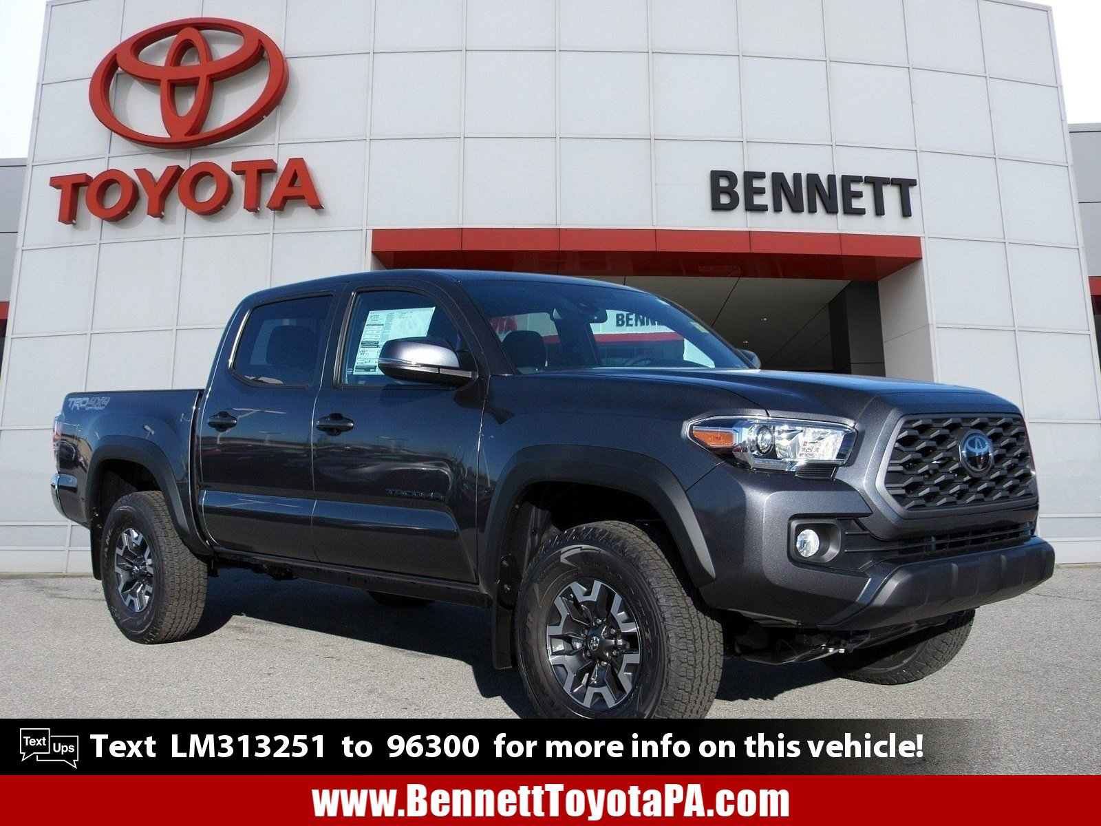 New 2020 Toyota Tacoma TRD Off Road