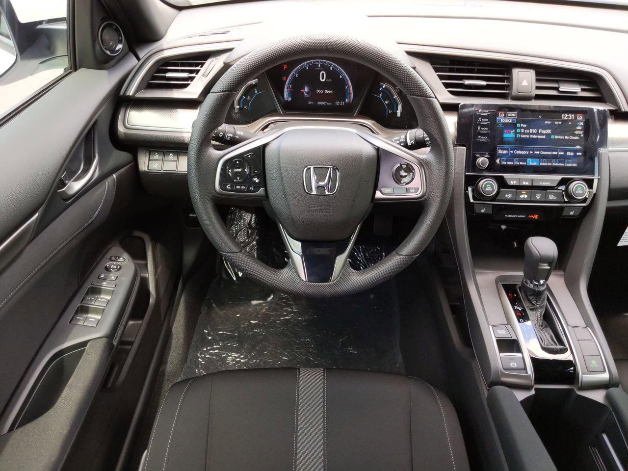 New 2019 Honda Civic EX