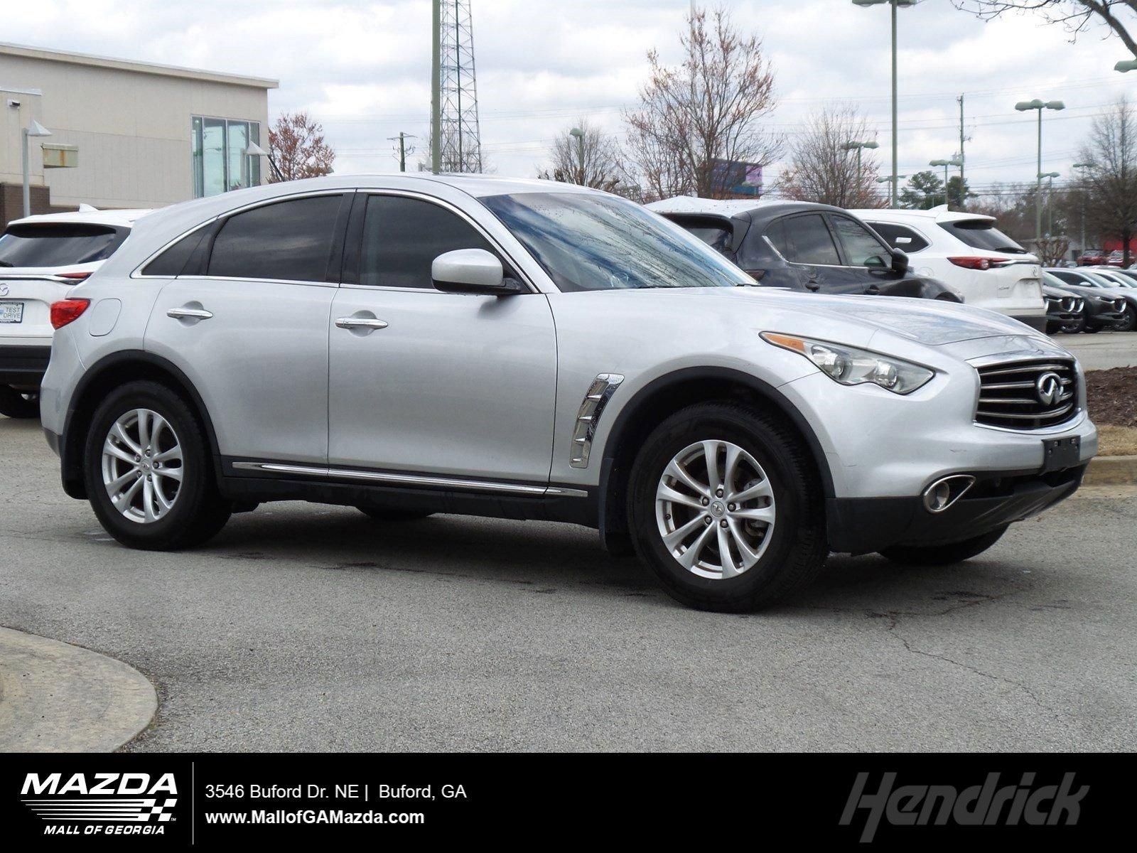 Pre-Owned 2012 INFINITI FX35 AWD 4dr
