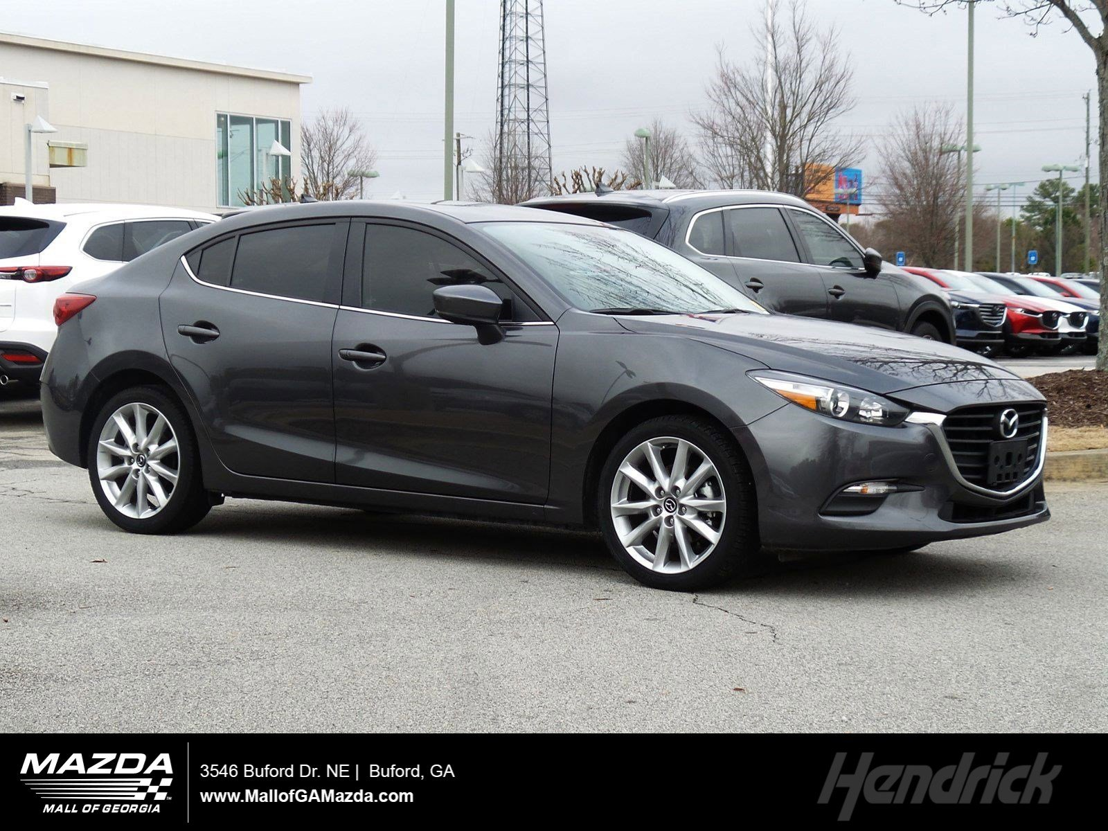 Certified Pre-Owned 2017 Mazda3 4-Door Touring