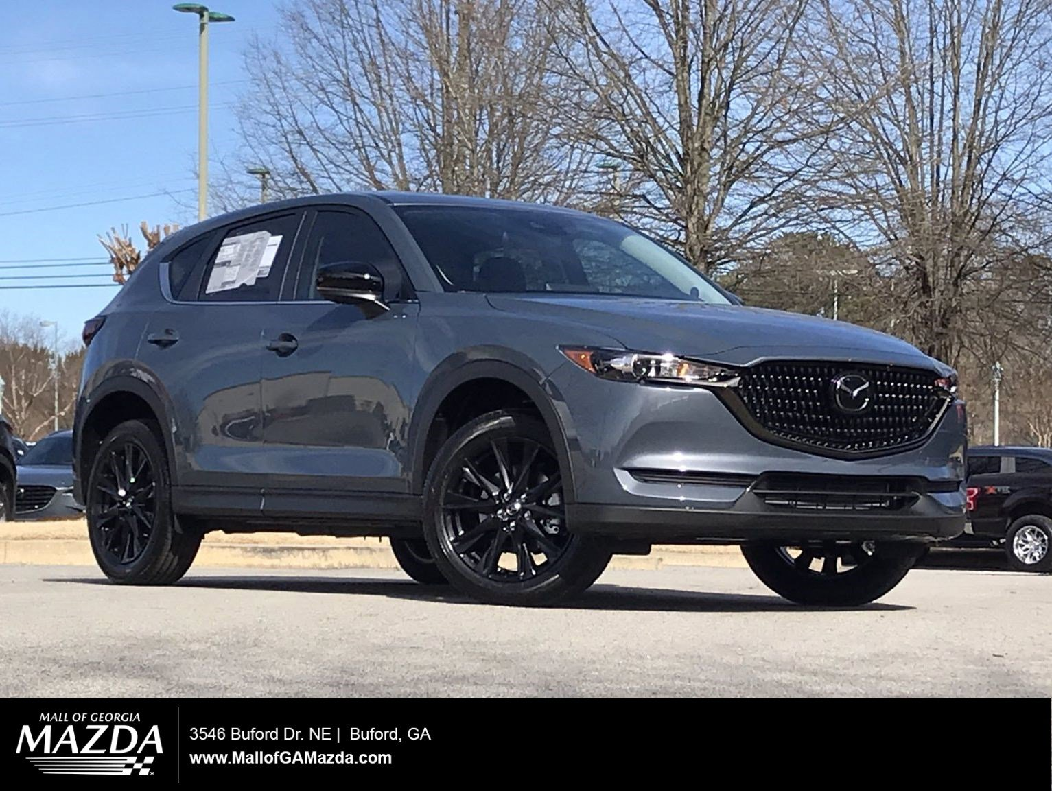 New 2021 MAZDA CX-5 Carbon Edition Turbo