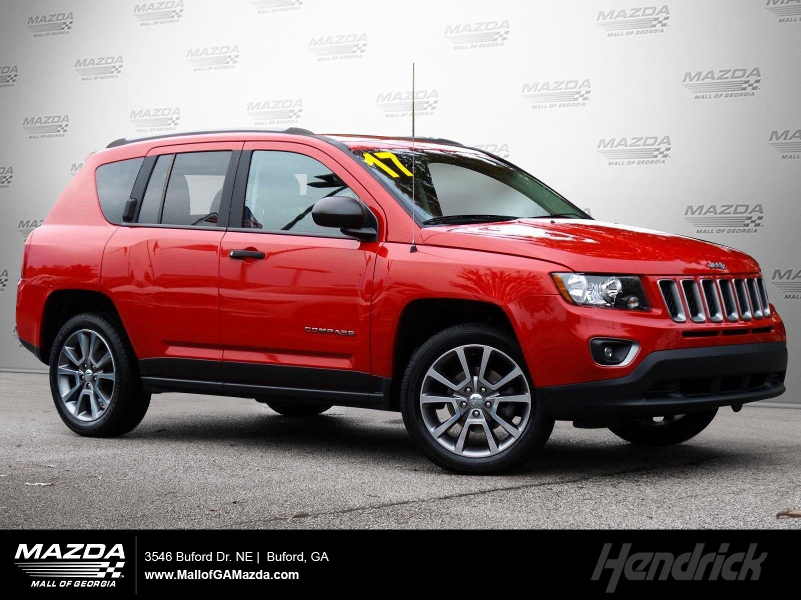 Pre-Owned 2017 Jeep Compass Sport SE