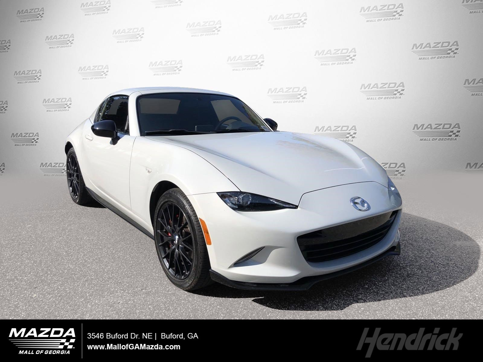 Certified Pre-Owned 2017 Mazda MX-5 Miata RF Club