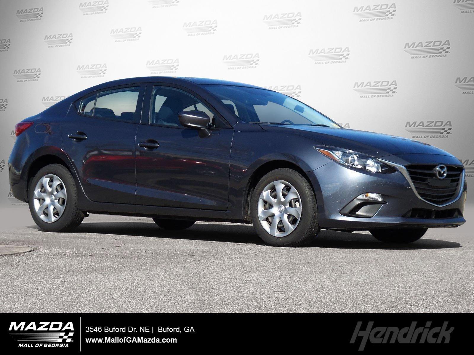 Certified Pre-Owned 2016 Mazda3 i Sport