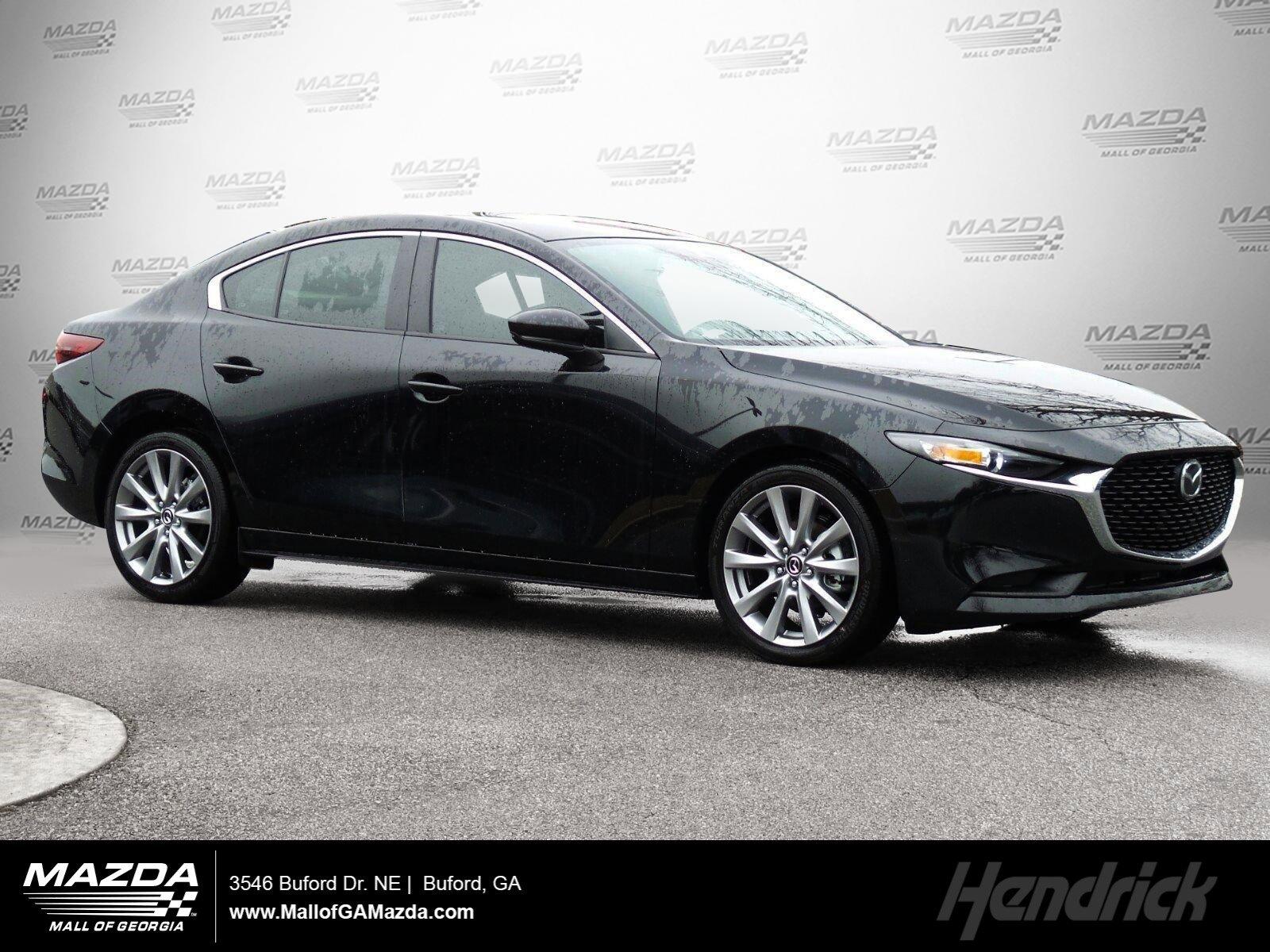 New 2020 Mazda3 Sedan w/Select Pkg