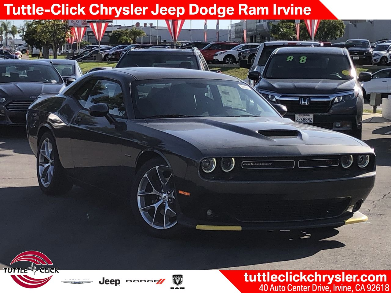 New 2019 DODGE Challenger R/T