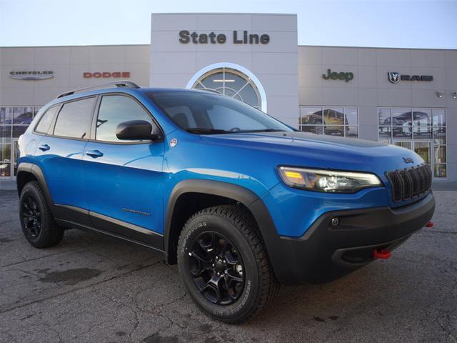 New 2020 JEEP Cherokee Trailhawk Elite