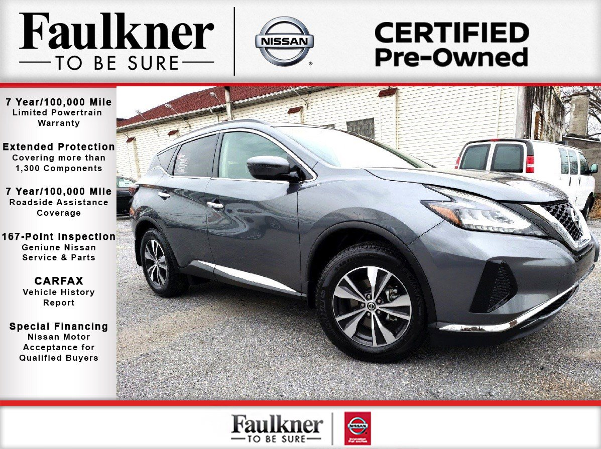 Certified Pre-Owned 2019 Nissan Murano SV