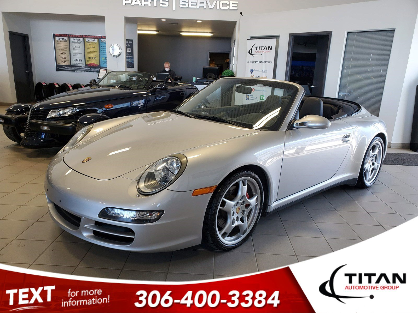Pre-Owned 2006 Porsche 911 Carrera 4S 3.8L 355HP | Convertible | AWD | Bose | Manual | Leather