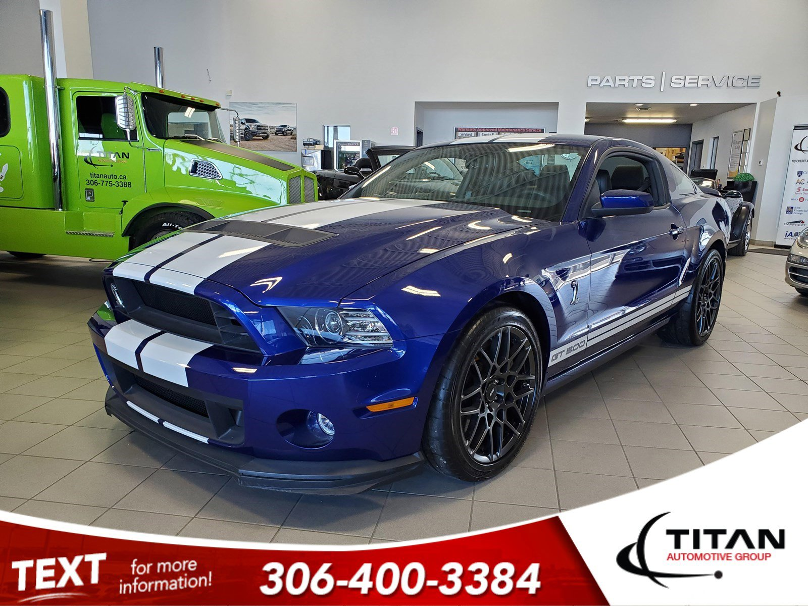 Pre-Owned 2013 Ford Mustang Shelby GT500 | 5.8L Supercharged V8 662HP | Launch Control | Brembo | Rare