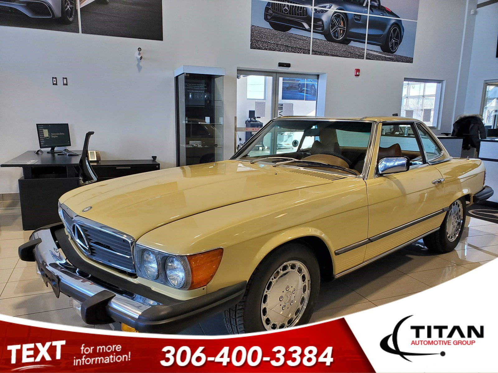 Pre-Owned 1979 Mercedes-Benz 450SL Removeable Hartop| Convertible | Showroom Condition | Auto | Chrome Rims