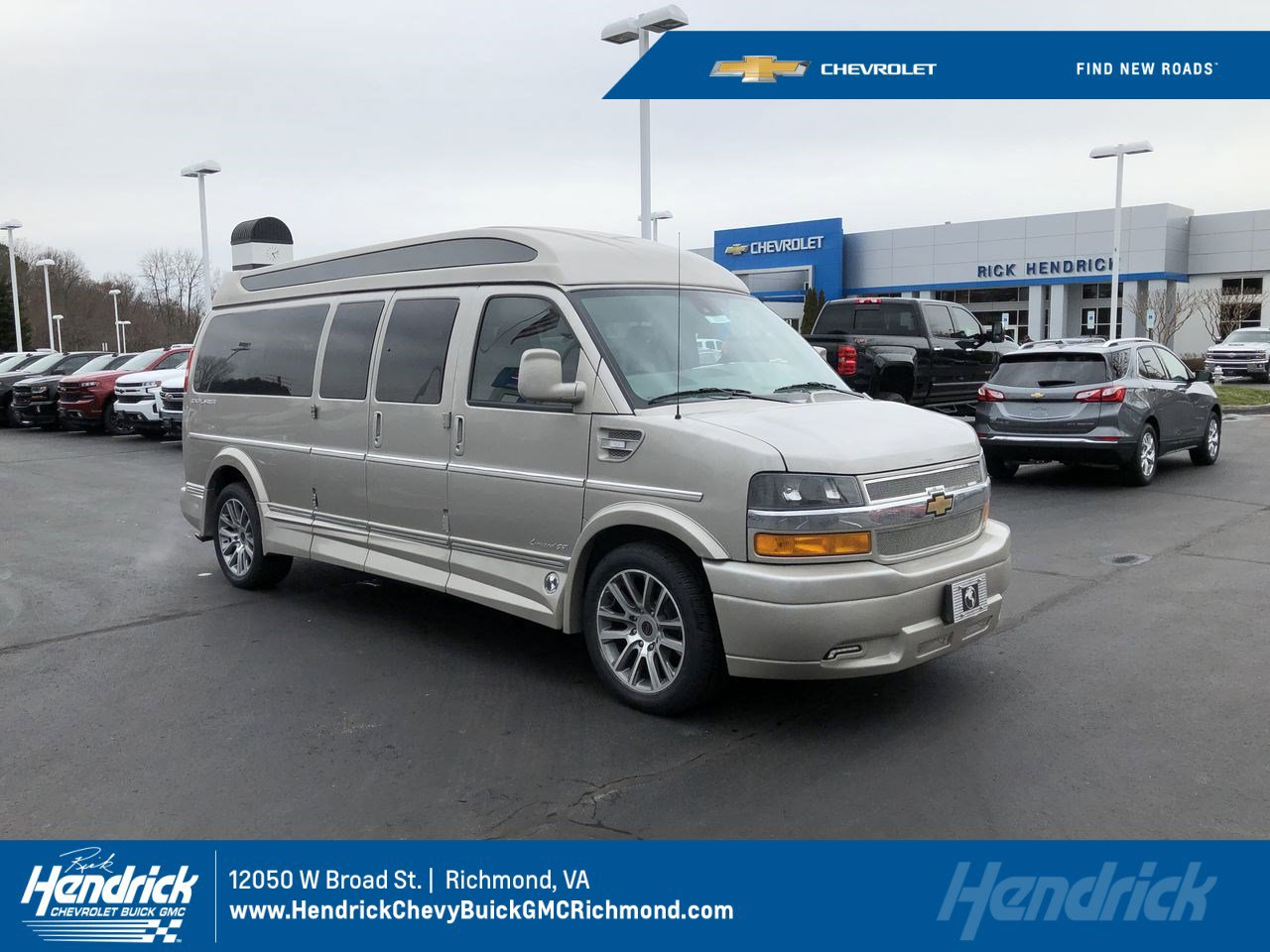 New 2019 Chevrolet Express Cargo Van RWD 2500 155