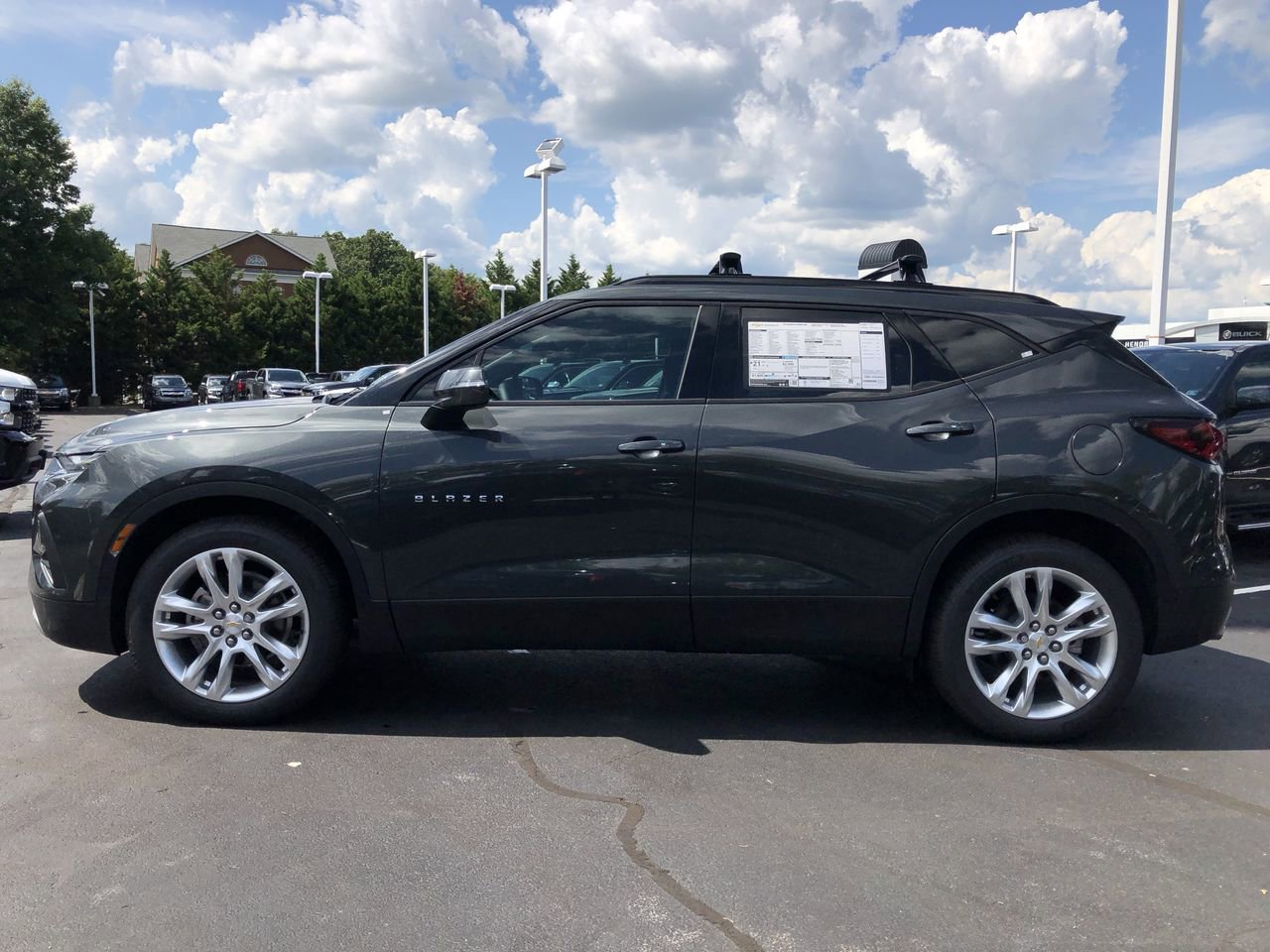 New 2019 Chevrolet Blazer AWD 4dr w/3LT