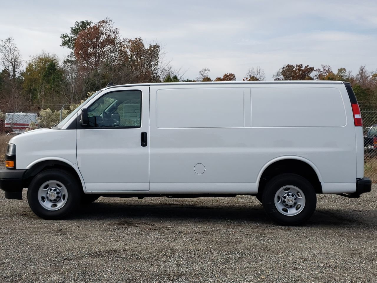 New 2019 Chevrolet Express Cargo Van RWD 2500 135