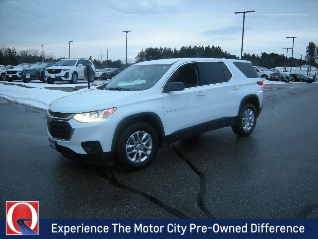Pre-Owned 2018 Chevrolet Traverse LS