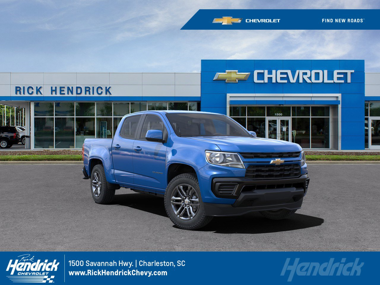 New 2021 Chevrolet Colorado 2WD Work Truck