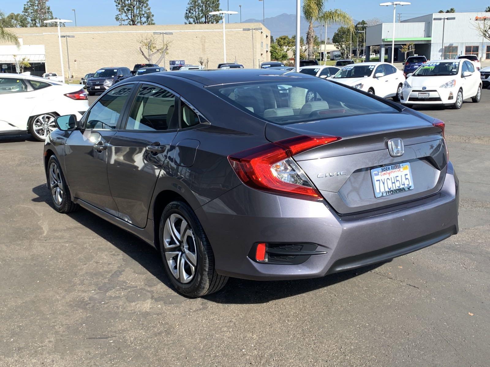 Pre-Owned 2017 Honda Civic Sedan LX