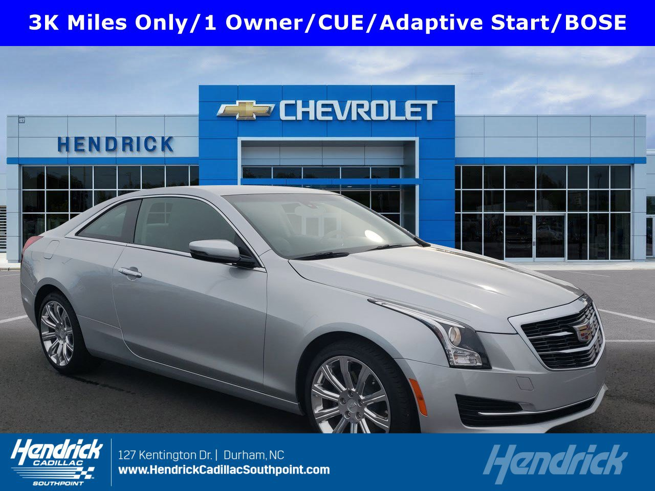 Pre-Owned 2019 Cadillac ATS Coupe RWD