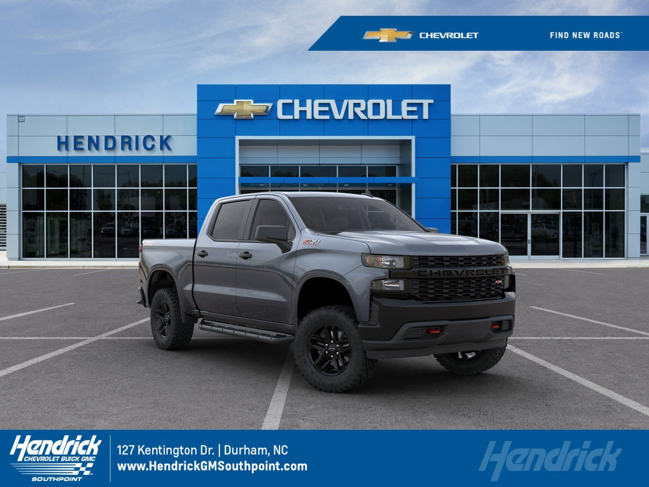 New 2020 Chevrolet Silverado 1500 Custom Trail Boss