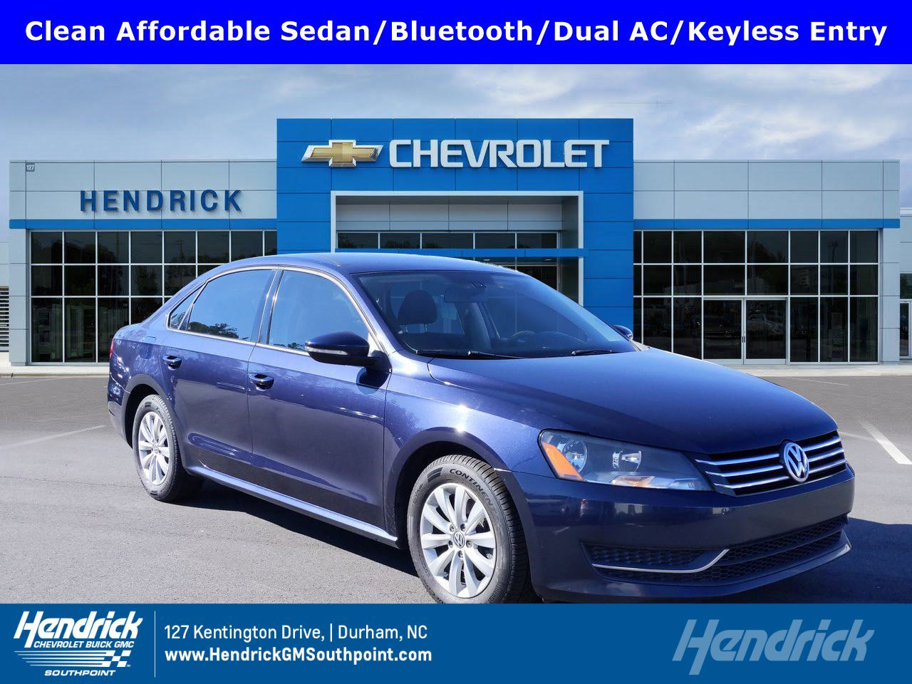 Pre-Owned 2012 Volkswagen Passat S w/Appearance