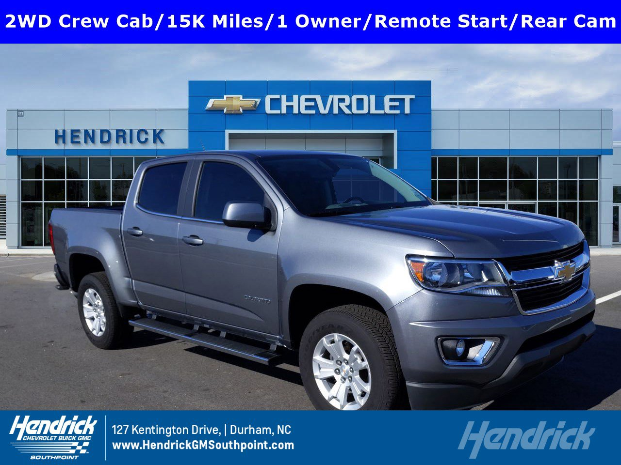 Pre-Owned 2018 Chevrolet Colorado 2WD LT