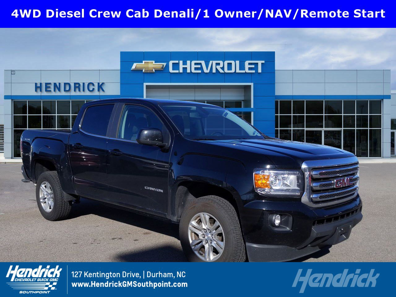 Certified Pre-Owned 2017 GMC Canyon 4WD Denali