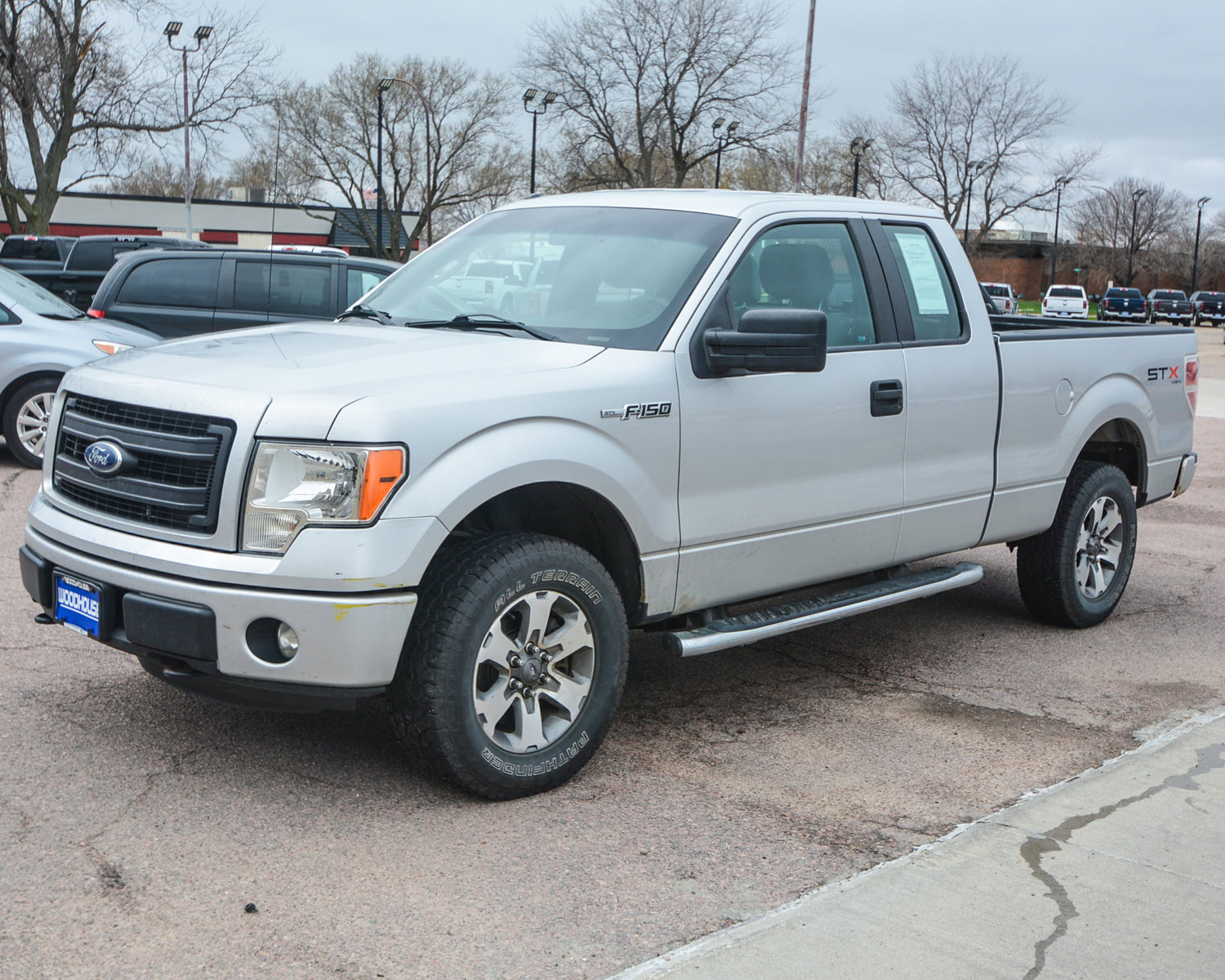 Pre-Owned 2013 Ford F-150 STX 4WD Super Cab