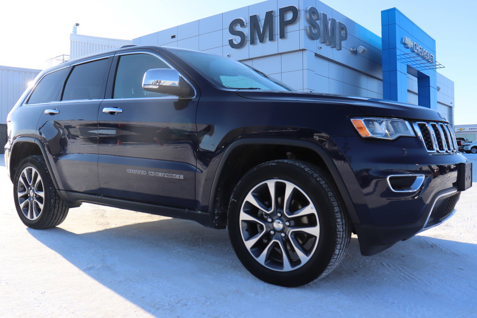 2018 Jeep Grand Cherokee Limited - Navigation, Leather, Sunroof