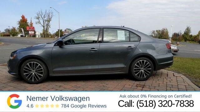 Certified Pre-Owned 2017 Volkswagen Jetta 1.8T Sport