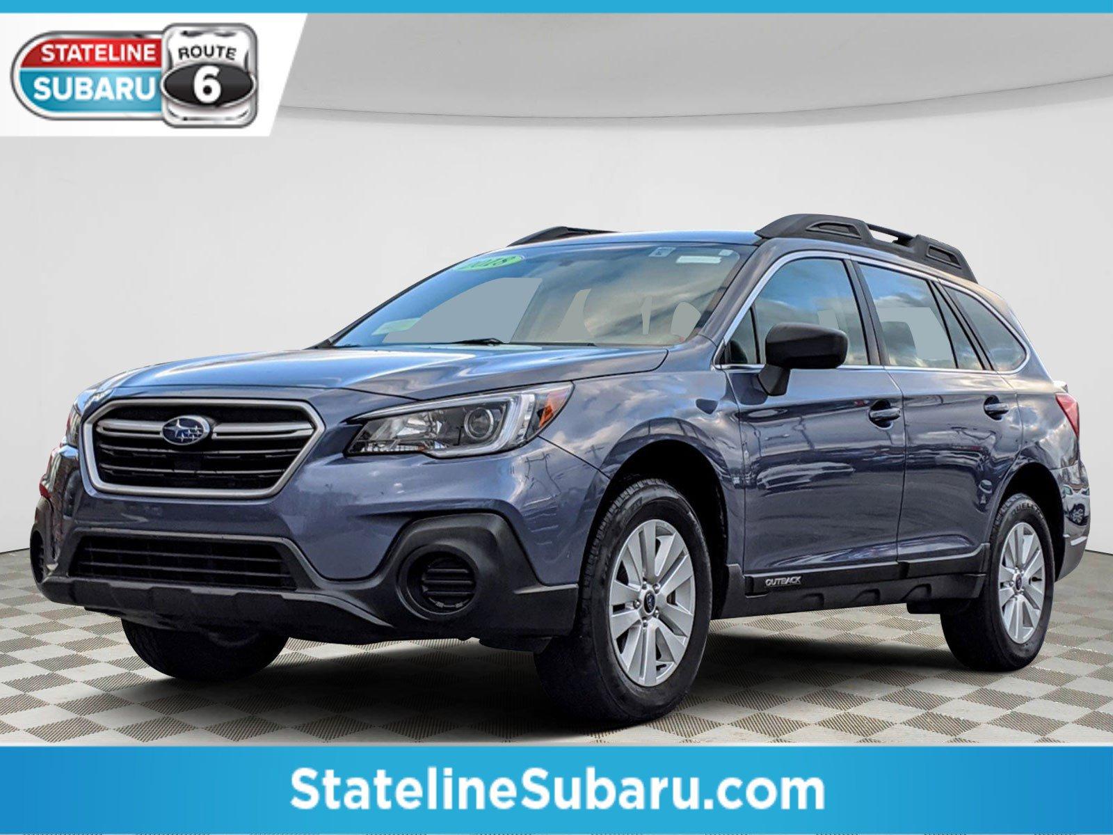 Pre-Owned 2018 Subaru Outback 2.5i