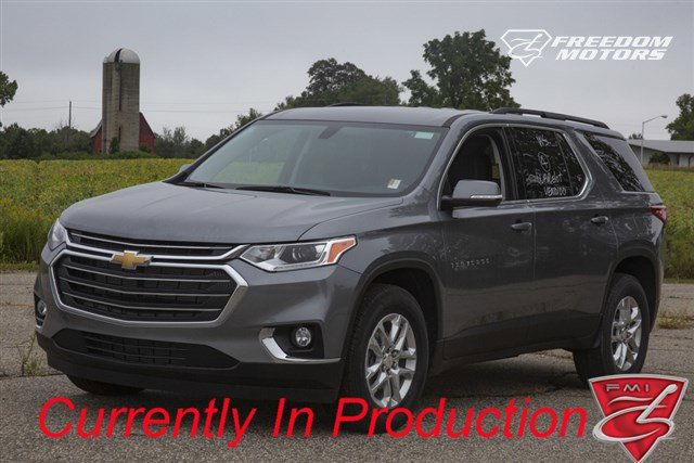 Pre-Owned 2020 Chevrolet Traverse LT Leather