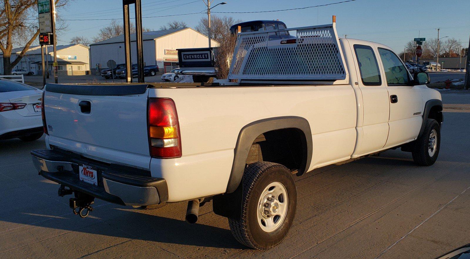 Pre-Owned 2002 Chevrolet Silverado 2500HD