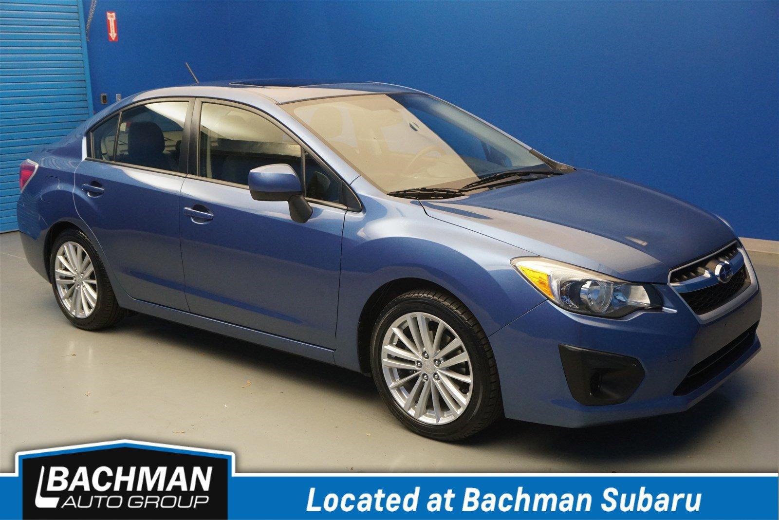 Pre-Owned 2014 Subaru Impreza Sedan Premium