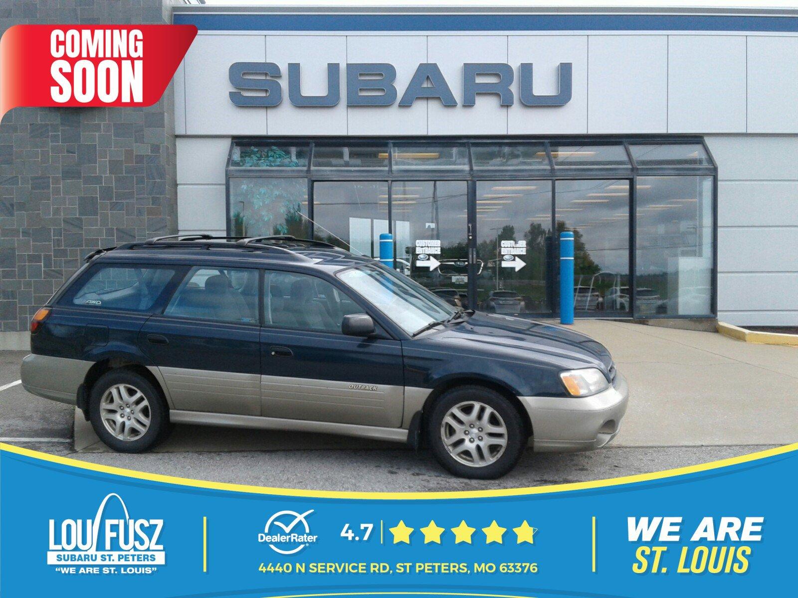 2000 Subaru Legacy Wagon Outback w/RB Equip