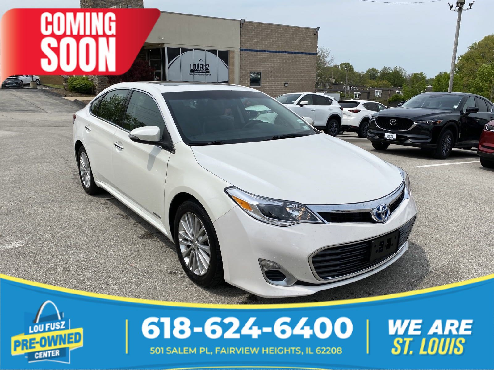 Pre-Owned 2013 Toyota Avalon Hybrid XLE Touring FWD 4dr Car