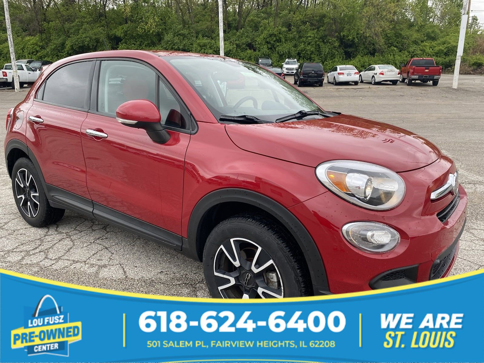 Pre-Owned 2016 FIAT 500X Easy AWD Sport Utility