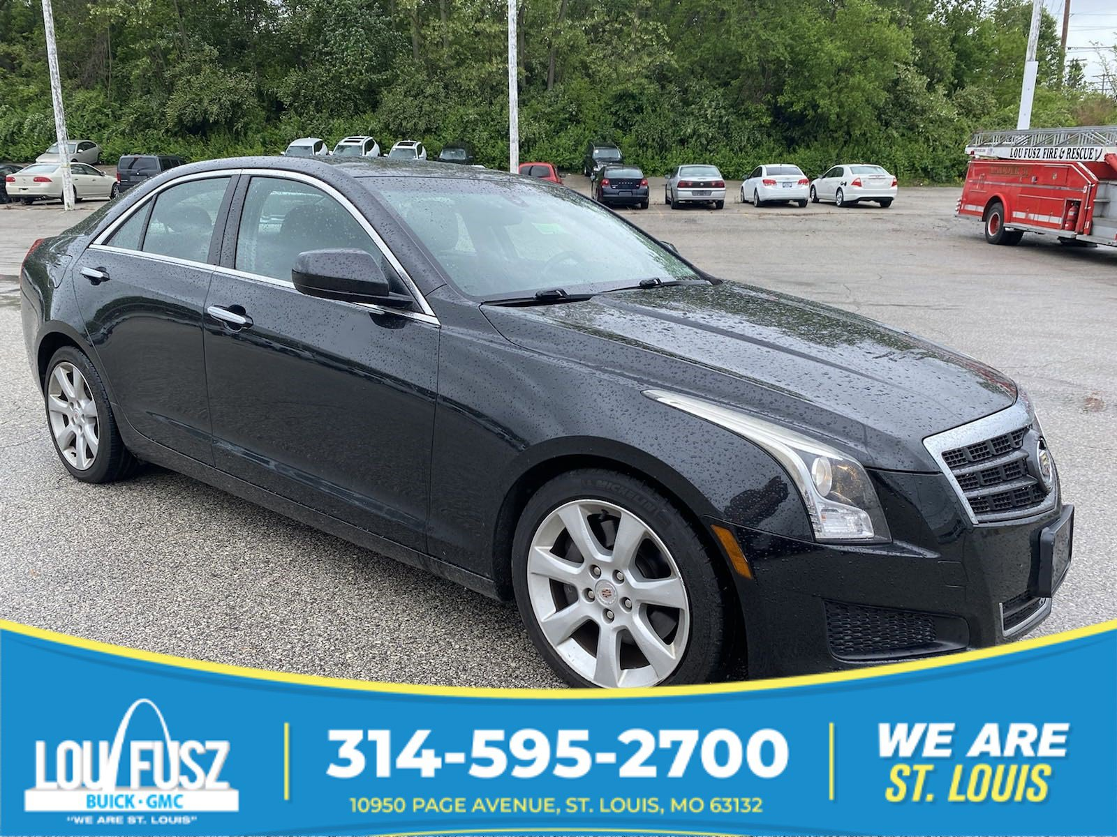 Pre-Owned 2013 Cadillac ATS 2.0L Turbo RWD 4dr Car