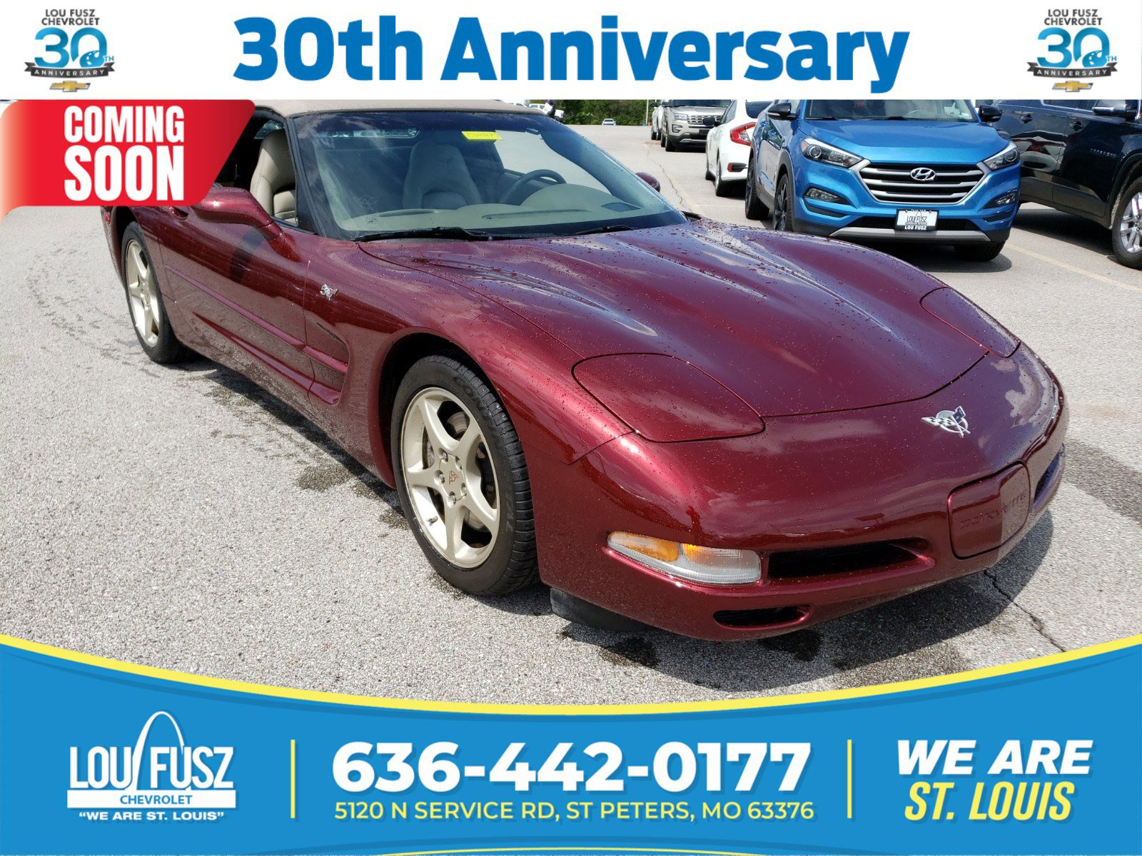 Pre-Owned 2003 Chevrolet Corvette RWD Convertible