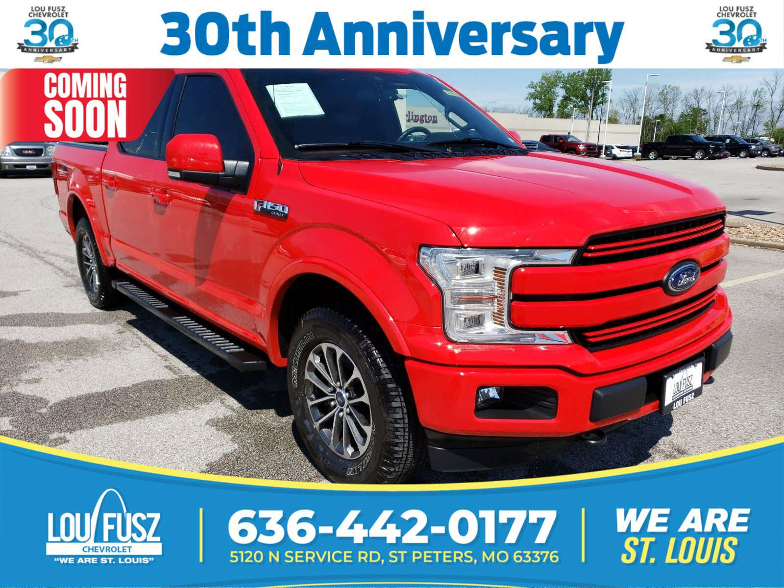 Pre-Owned 2019 Ford F-150 LARIAT 4WD Crew Cab Pickup