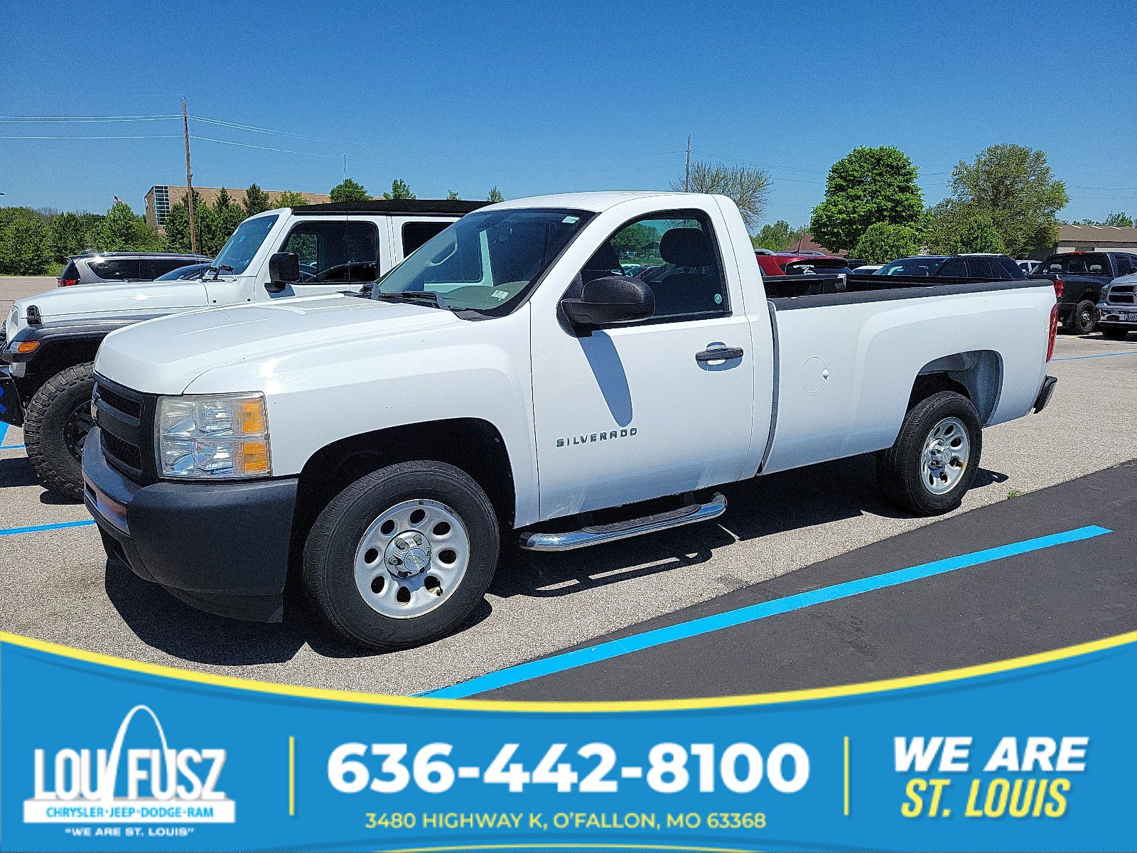 Pre-Owned 2010 Chevrolet Silverado 1500 Work Truck RWD Regular Cab Pickup