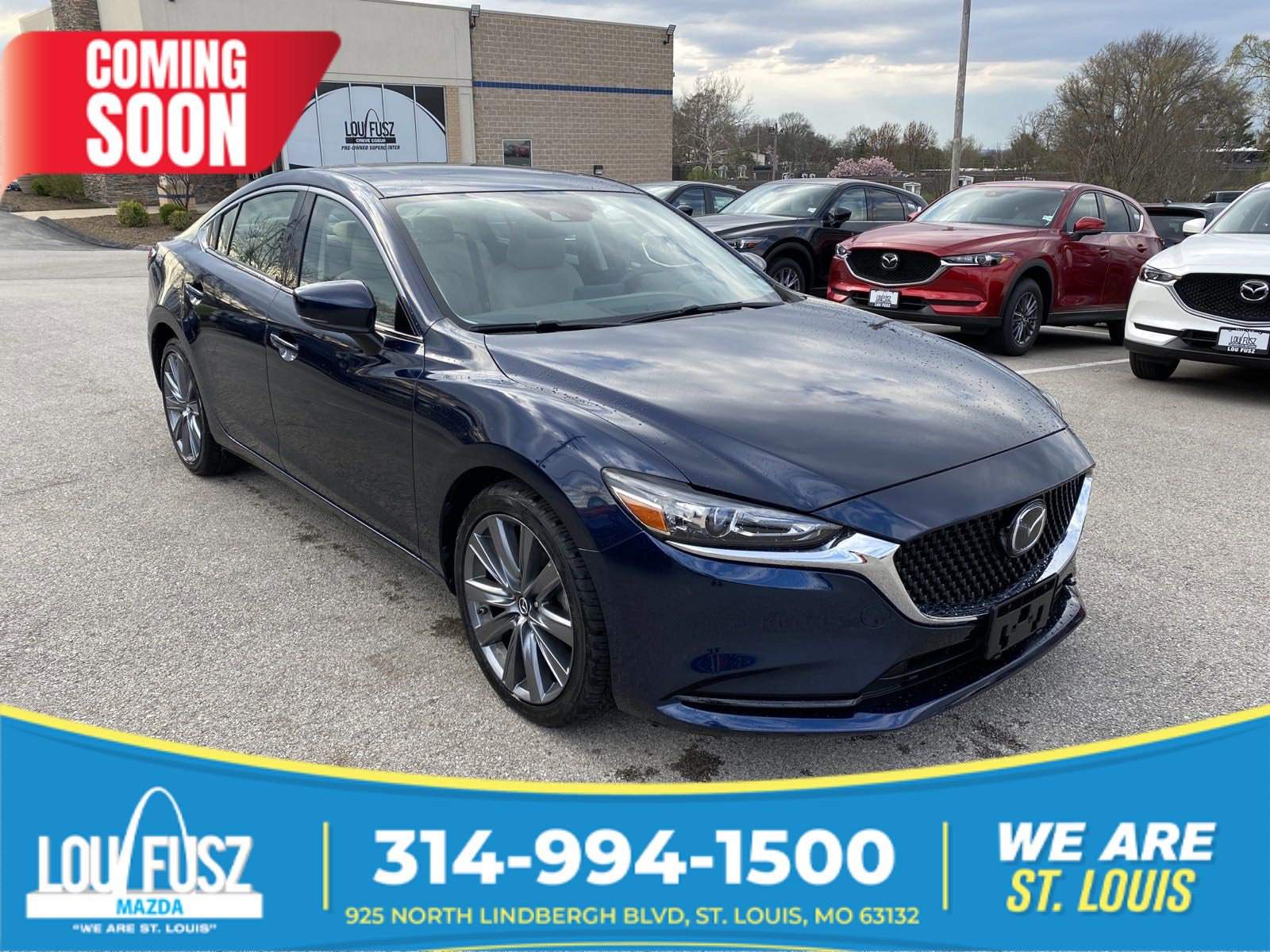 Certified Pre-Owned 2018 Mazda6 Touring FWD 4dr Car