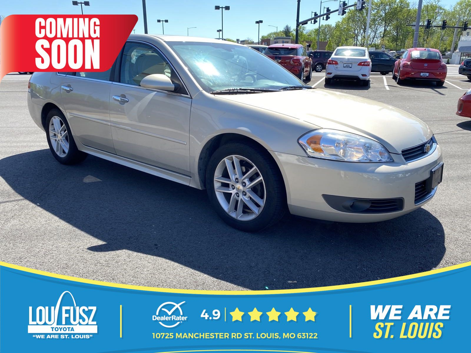 Pre-Owned 2010 Chevrolet Impala LTZ FWD Sedan