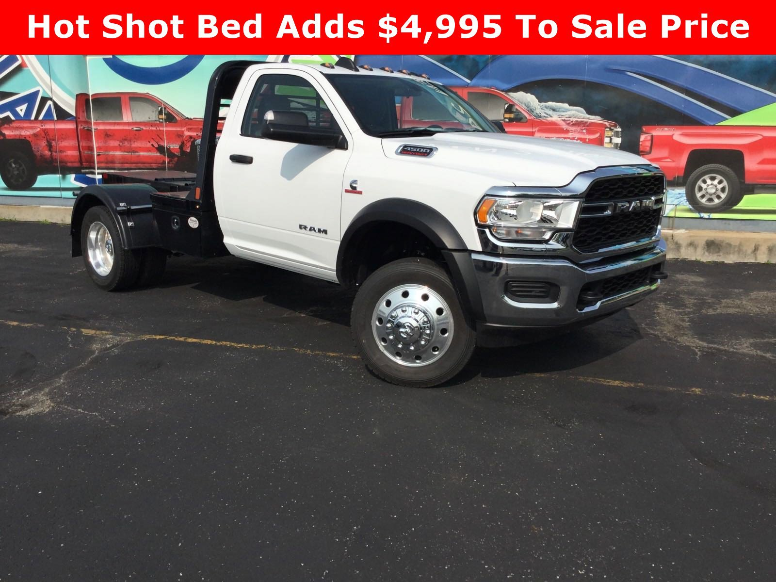 New 2020 RAM 4500 Chassis Cab Tradesman 4x4 Regular Cab